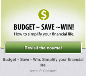 Budget - Save - Win. Simplify your financial life